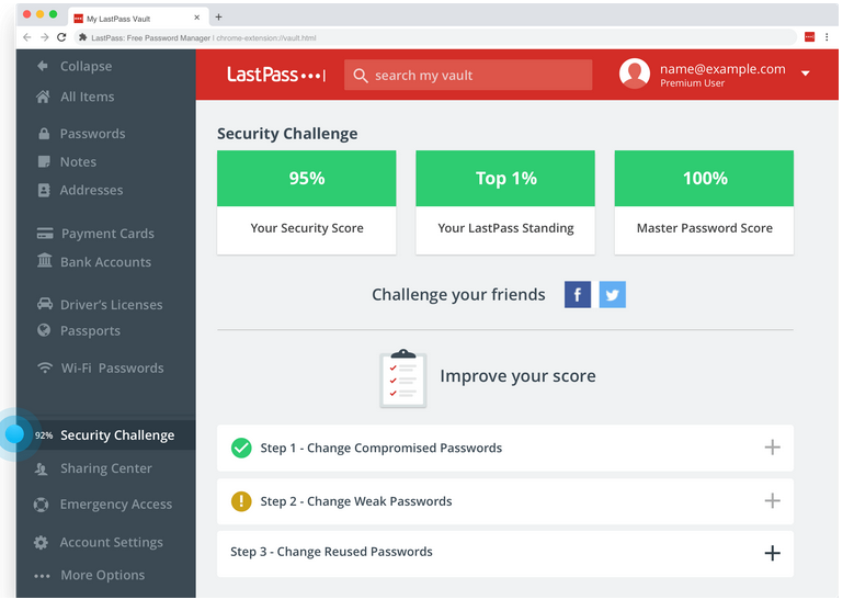 LastPass Security Challenge